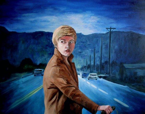 self portrait as Cindy Sherman 3