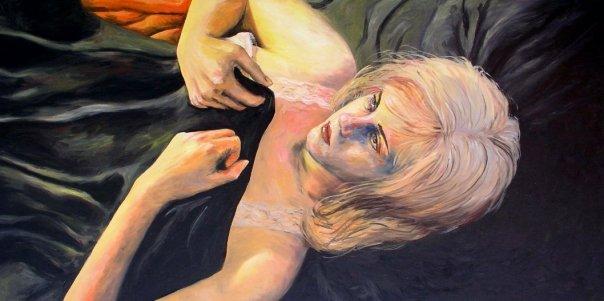 self portrait as Cindy Sherman 2