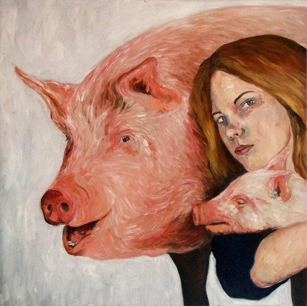 self portrait as Jeff Koons