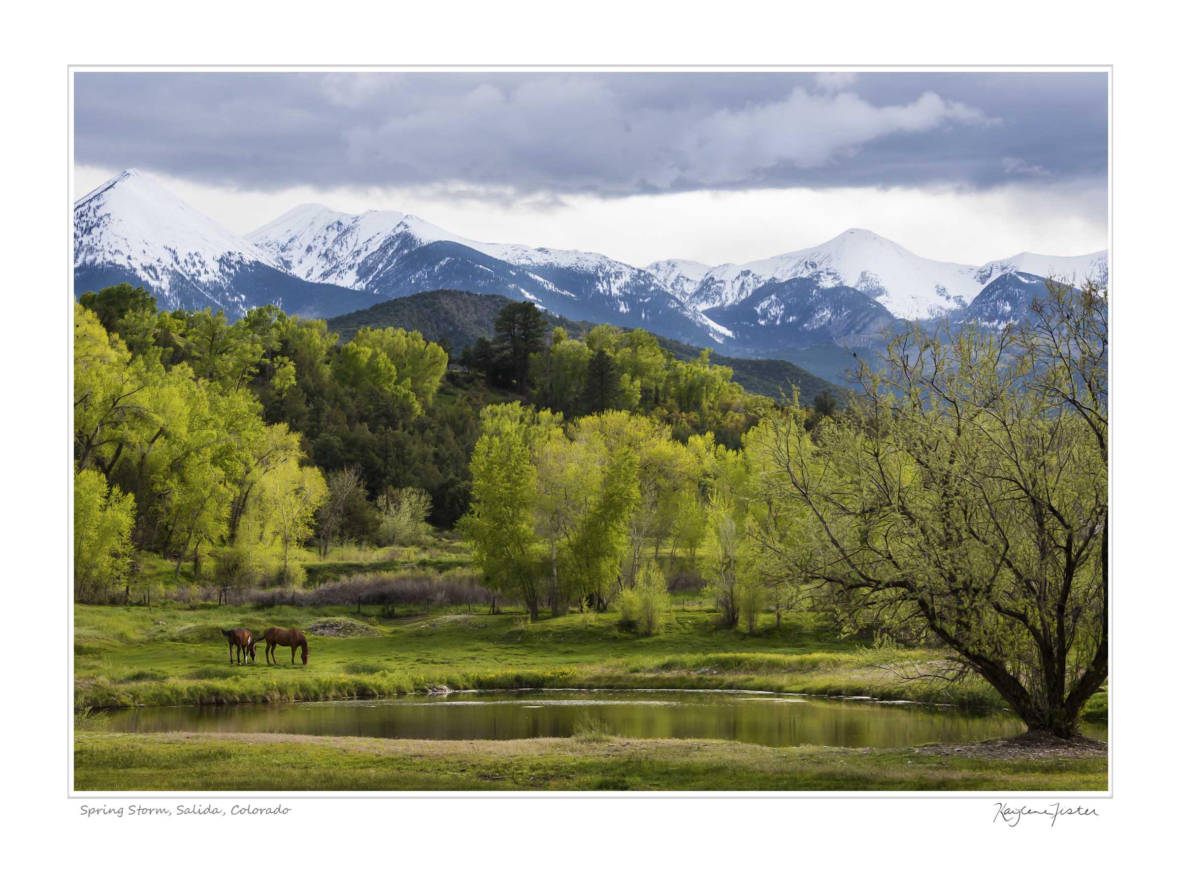 0034:3278 Spring Storm, Salida Colorado