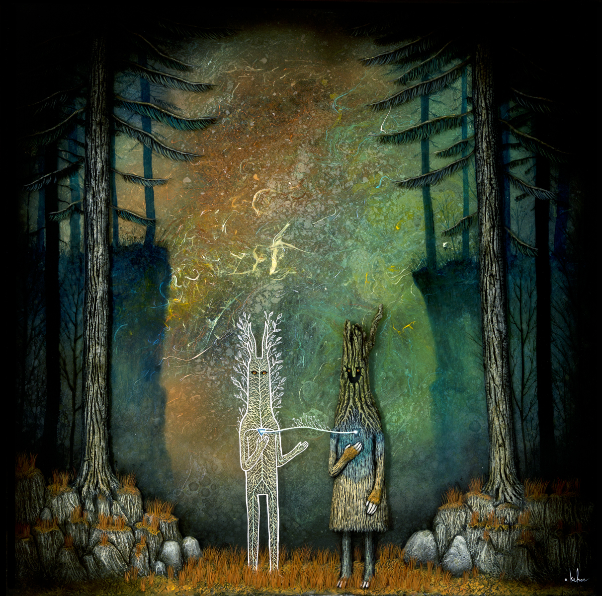 Invoking the Heart of the Forest