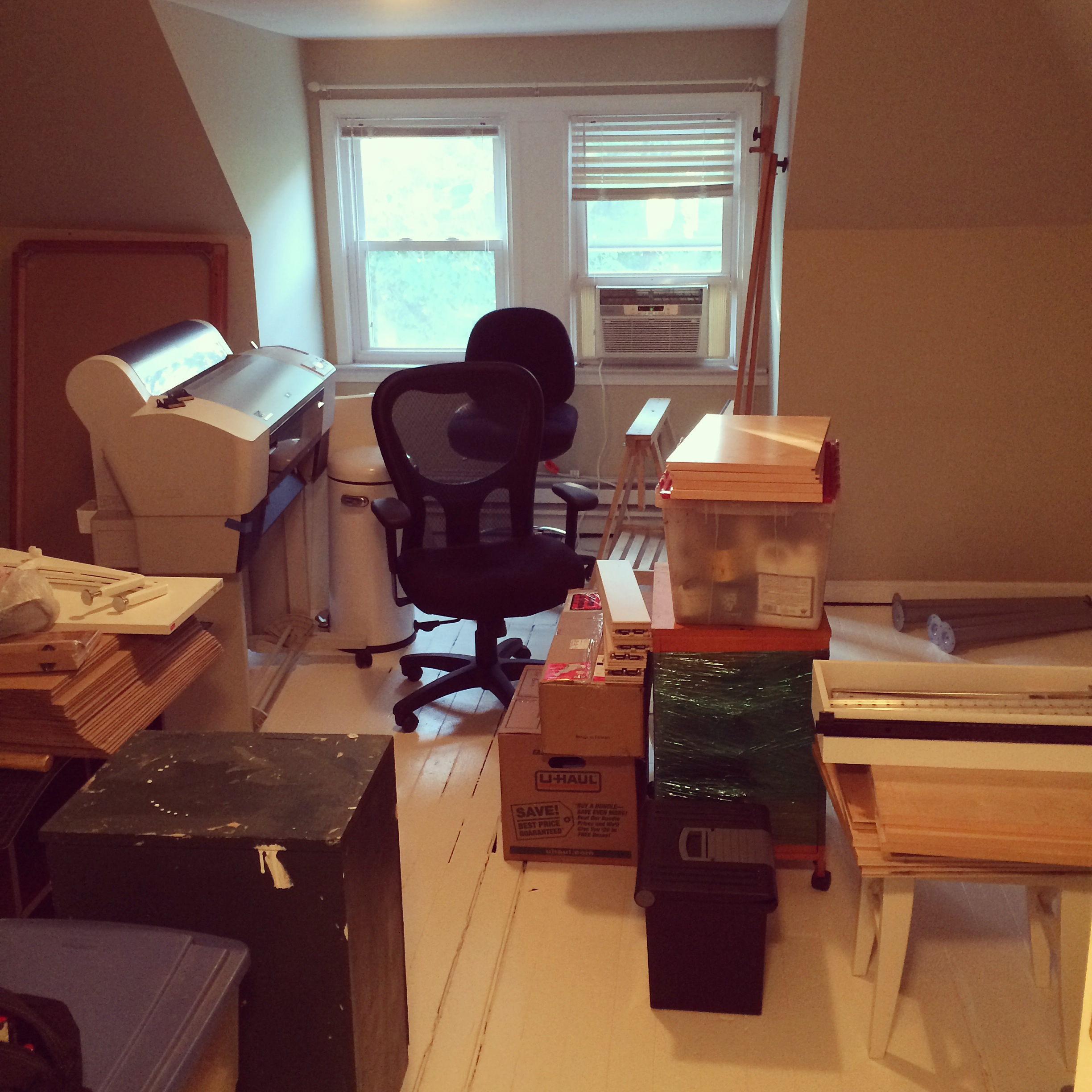 Ugh. What a mess. Setting up a new studio is always a daunting, yet exciting undertaking.
