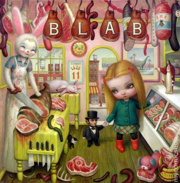 Cover by Mark Ryden