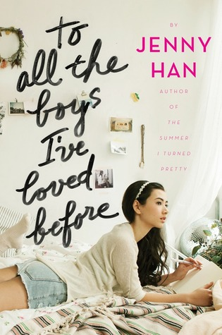 Isn't this just the most gorgeous cover ever? This scores points for To All The Boys I've Loved Before