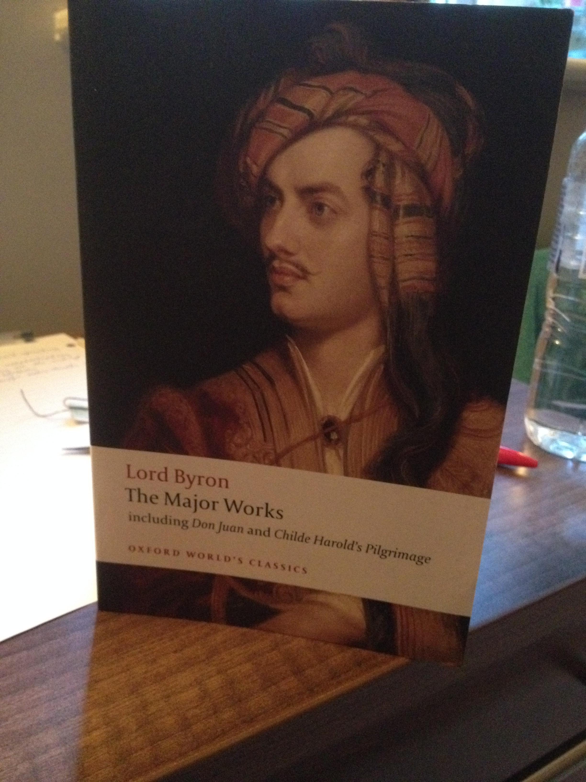 Lord Byron - not sure if I'll ever get through this. Oh MA, what are you doing to me?!