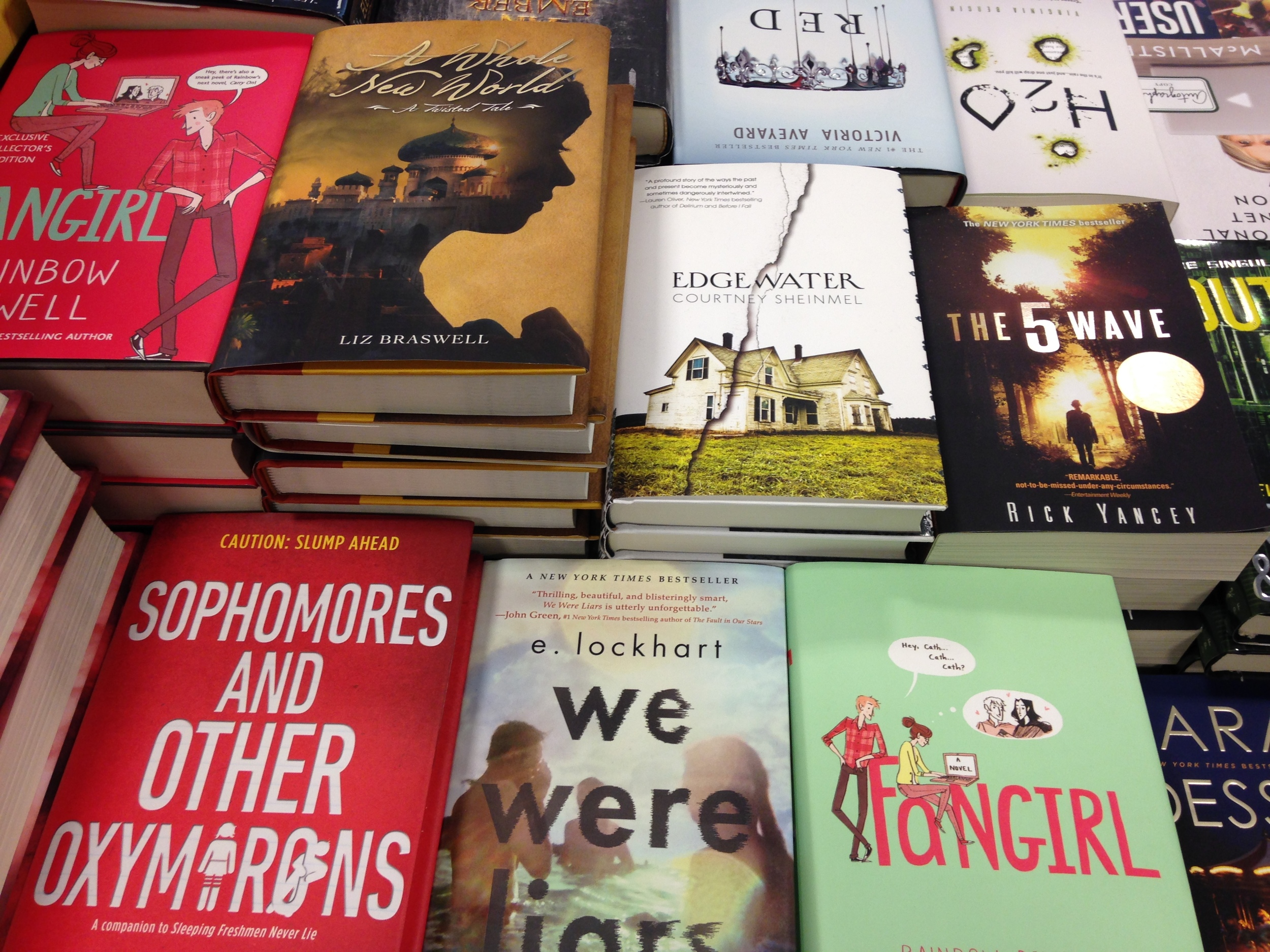 Some of my favourite YA books - HELLE WE WERE LIARS!!