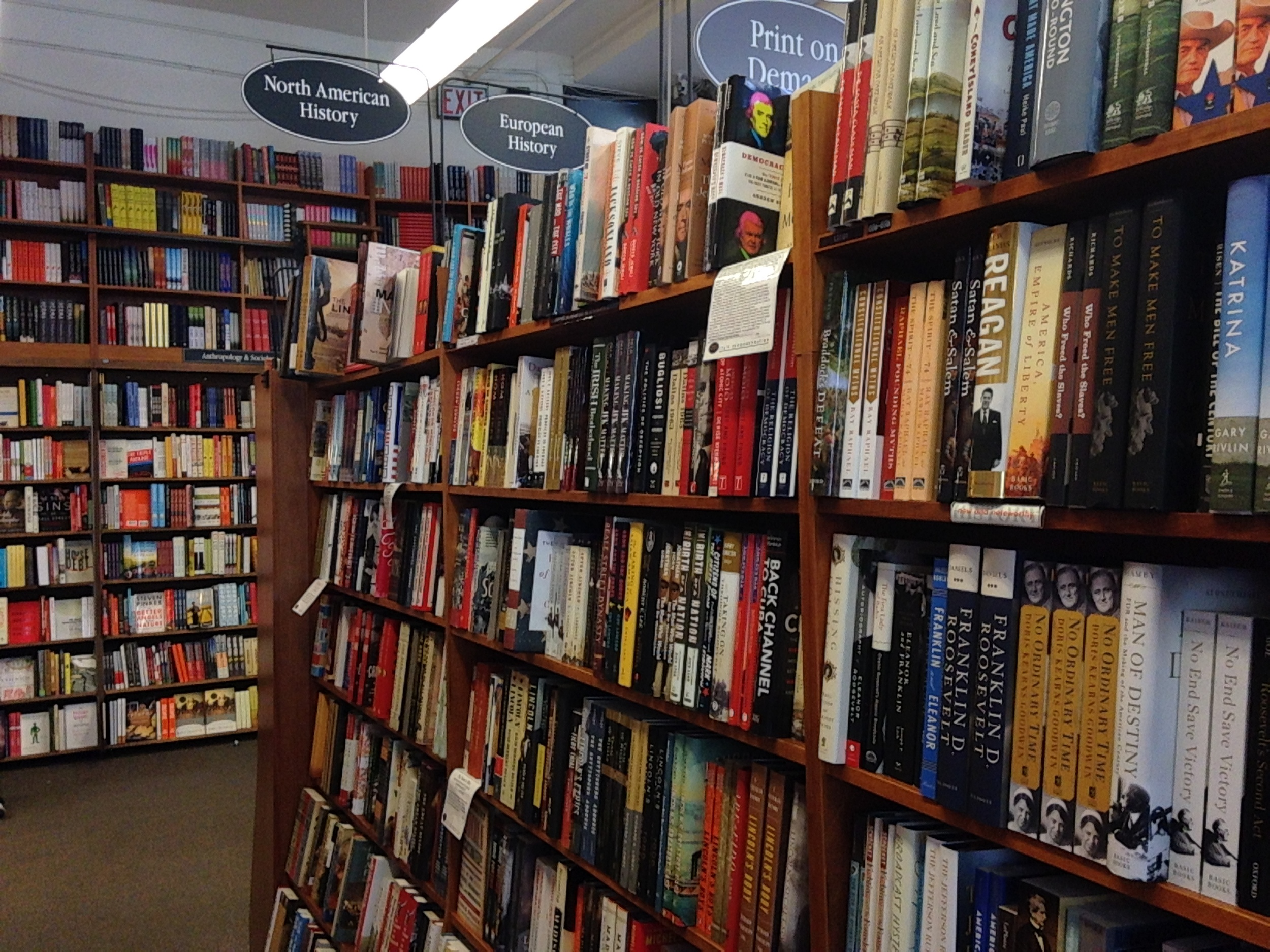 Harvard Bookstore Fiction