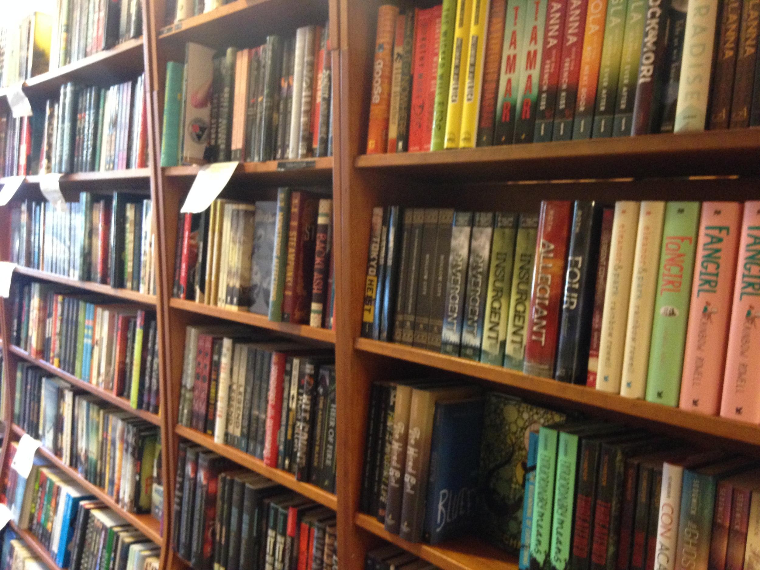 Harvard Bookstore YA