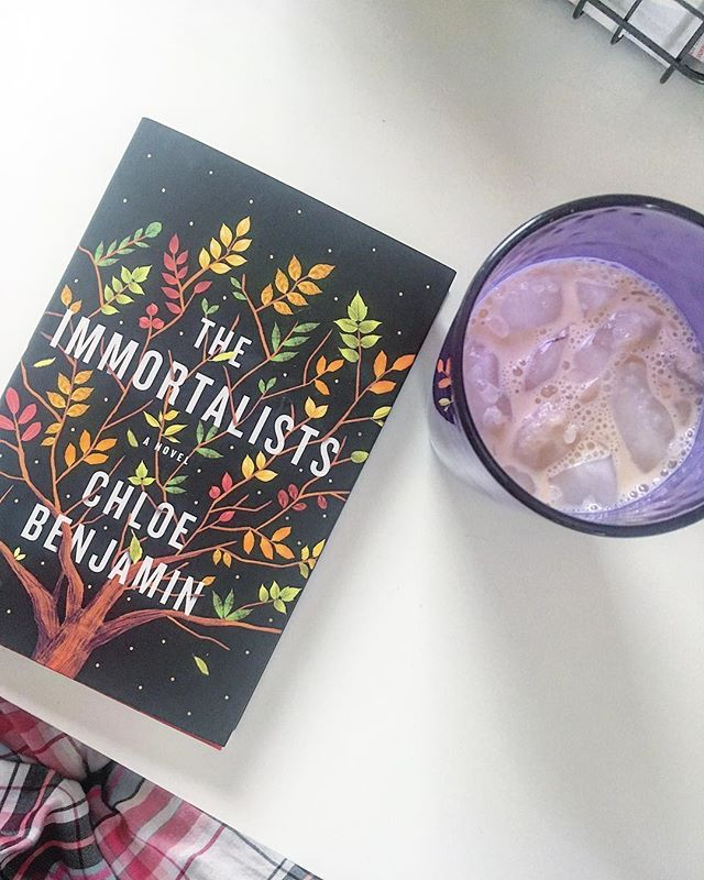 Quiet Sunday mornings - snow melting away outside (finally) and some iced chai tea to wake me up while reading this beauty. Just started The Immortalists last night and I already love it so much!  #books #book #bookstagram #instabook #read #reading #sunday #booknerd #bookworm #booklover #bibliophile #instabooks