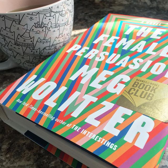 Went to @barnesandnoble this morning before my morning tea, because this book is FINALLY out! I feel like I've waited forever for The Female Persuasion and I can't wait to spend all day with @megwolitzer! #books #bookstagram #read #reading #thefemalepersuasion #megwolitzer #tea #book #booknerd #bookworm