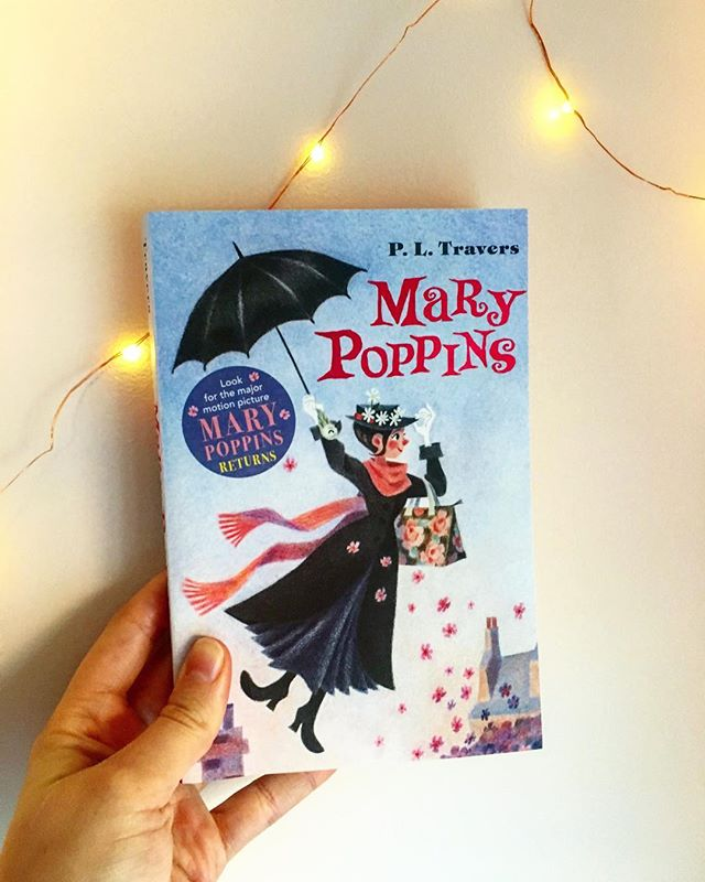 I've always been obsessed with the Mary Poppins movie and ever since watching Saving Mr Banks, I've been dying to read the original story.  You guys, it's the best. As many reviewers pointed out, it's dark and twisted and different from the Disney movie, but it is so good. If you just open up to the concept that this is a different Mary Poppins - never just Mary!- this is such a fun read!  I'd highly recommend reading this before the new Disney movie comes out!  #marypoppins #marrypoppinsreturns #pltravers #reading #book #bookstagram