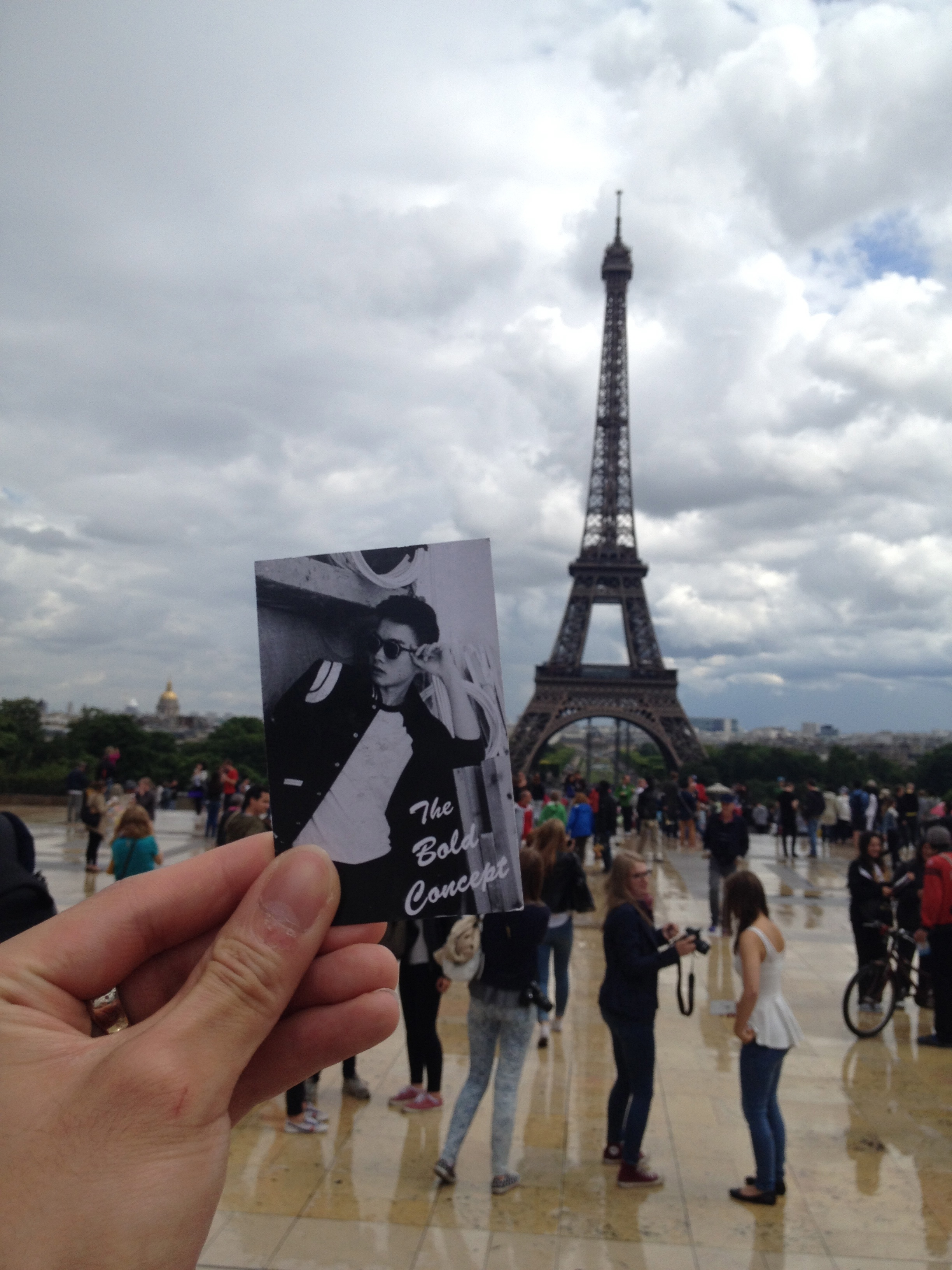 #theboldconcept has made it to Paris