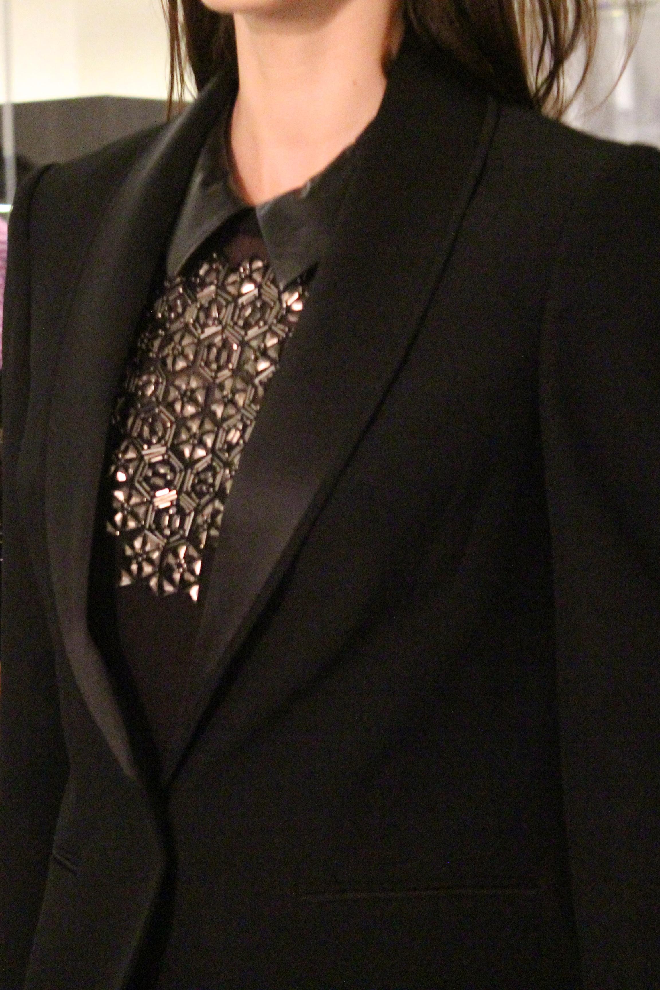 Jacket:   Modern tuxedo jacket