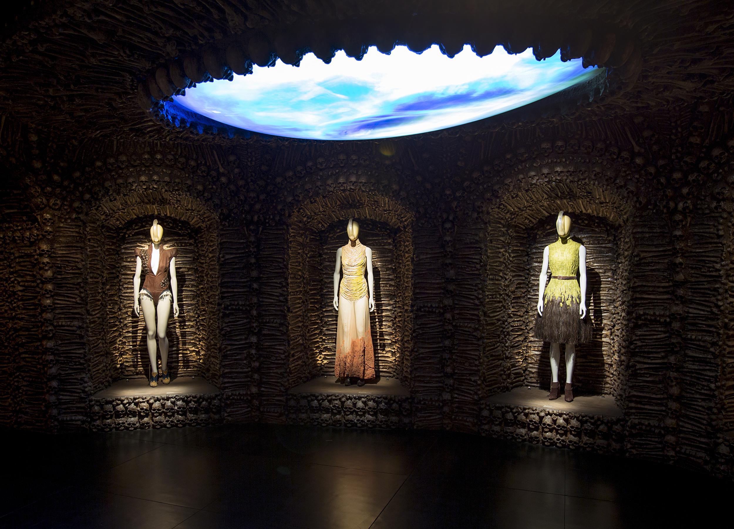 I  nstallation view of 'Romantic Primitivism' gallery