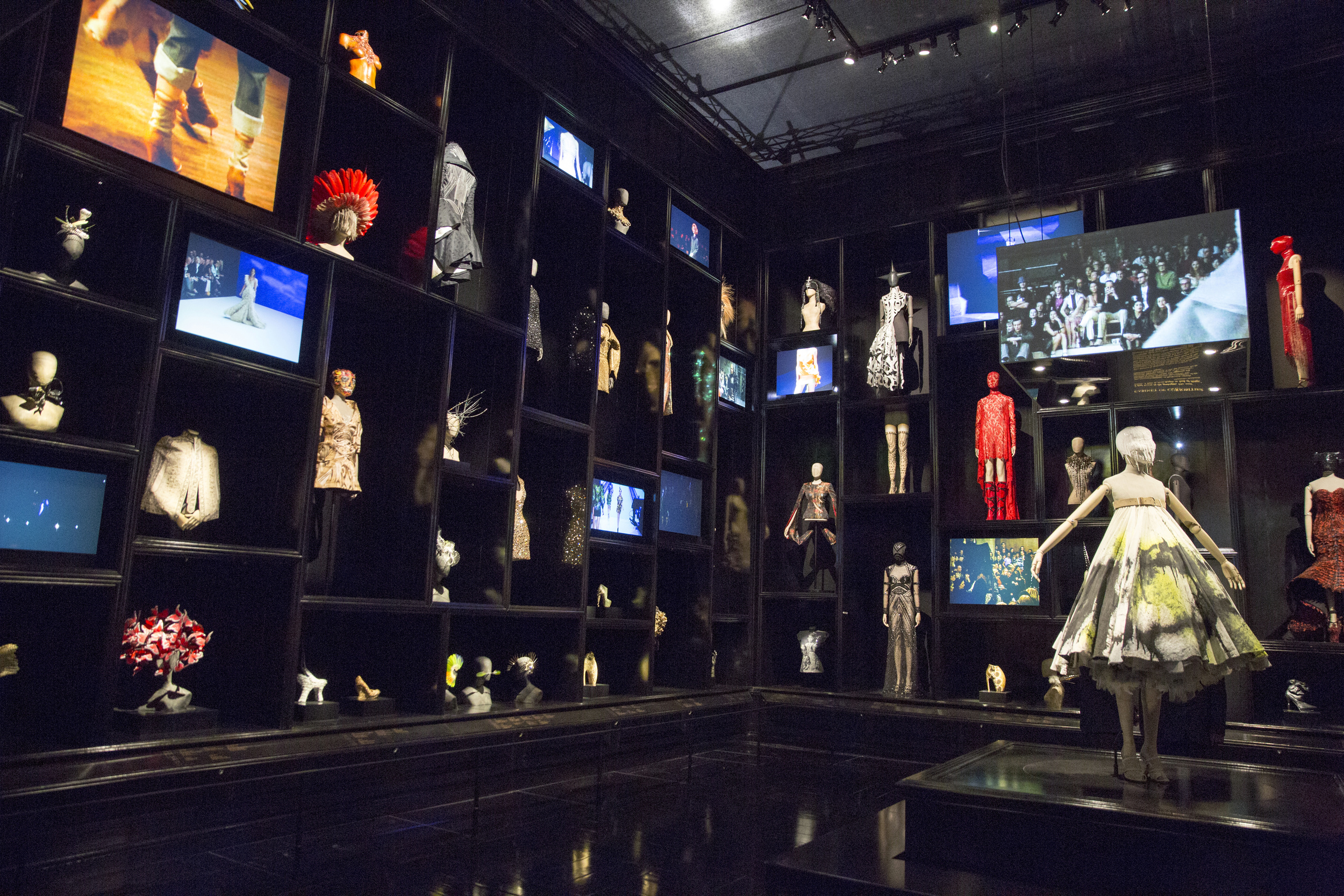 Installation view of 'Cabinet of Curiosities' gallery