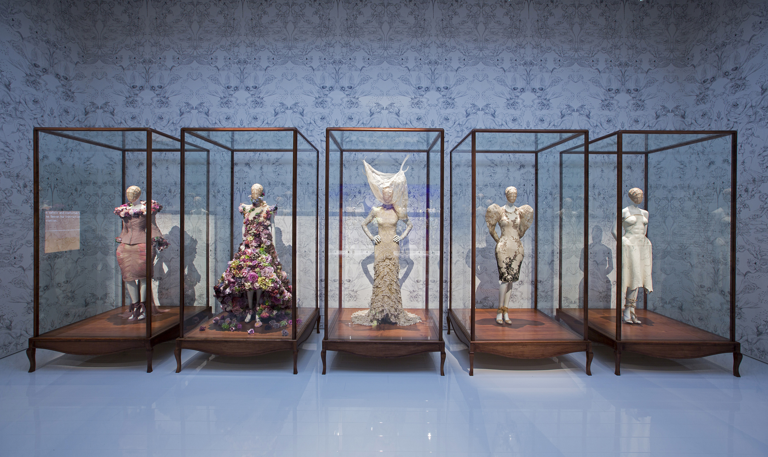 Installation view of 'Romantic Naturalism' gallery