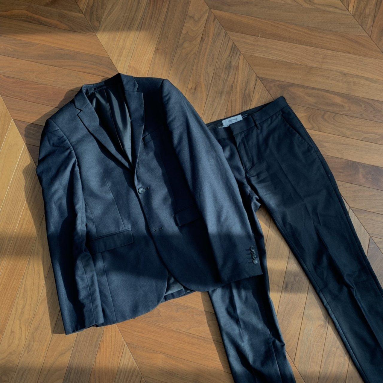 Topman Black Ultra Skinny Suit