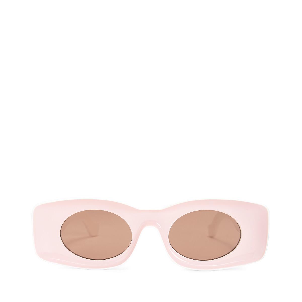 Paula Sunglasses in Pink/White
