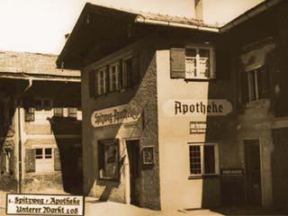 Alte Spitzweg-Apotheke in Miesbach