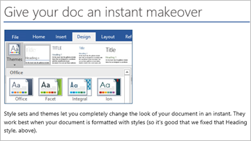 Welcome to Word   Learn by doing in Word — instructions you can edit, share, and print.   Download