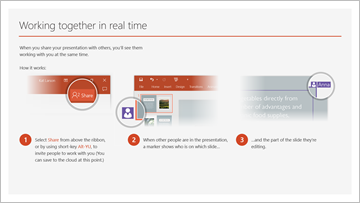 Welcome to PowerPoint   5 tips to a simpler way to work in PowerPoint, including cool effects.   Download