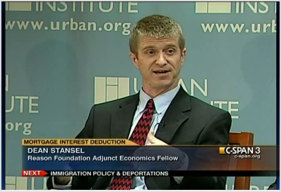 """""""Rethinking the Mortgage Interest Deduction,"""" a policy forum cosponsored by Reason Foundation and Tax Policy Center (Urban Institute and Brookings Institution), July 28, 2011."""