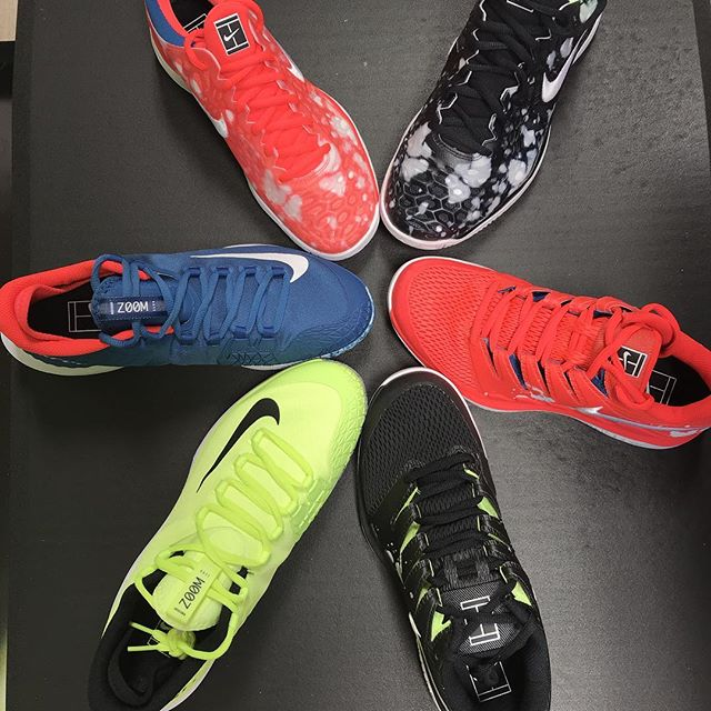 Brand new Nike Vapors, Air Zoom Zero and Cages for men and women. Players Choice Tennis Birmingham.