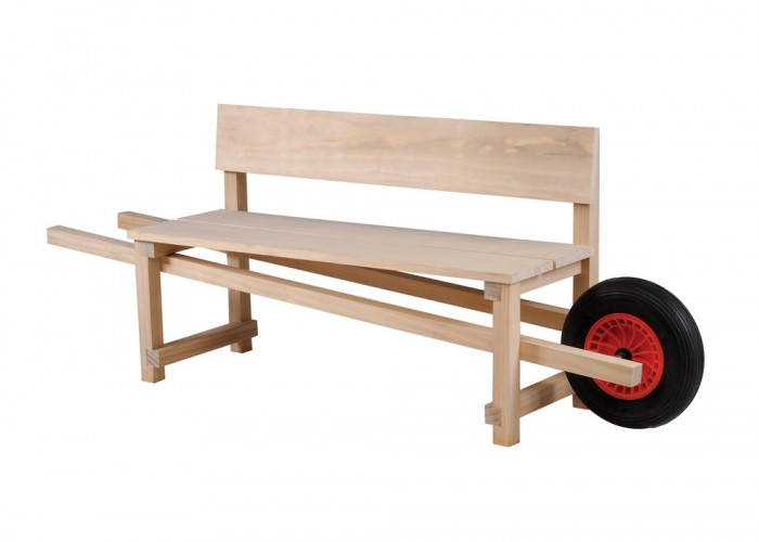 Wheelbench  by Rogier Martens