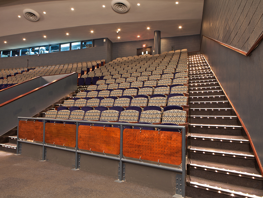 Upper Level Seating