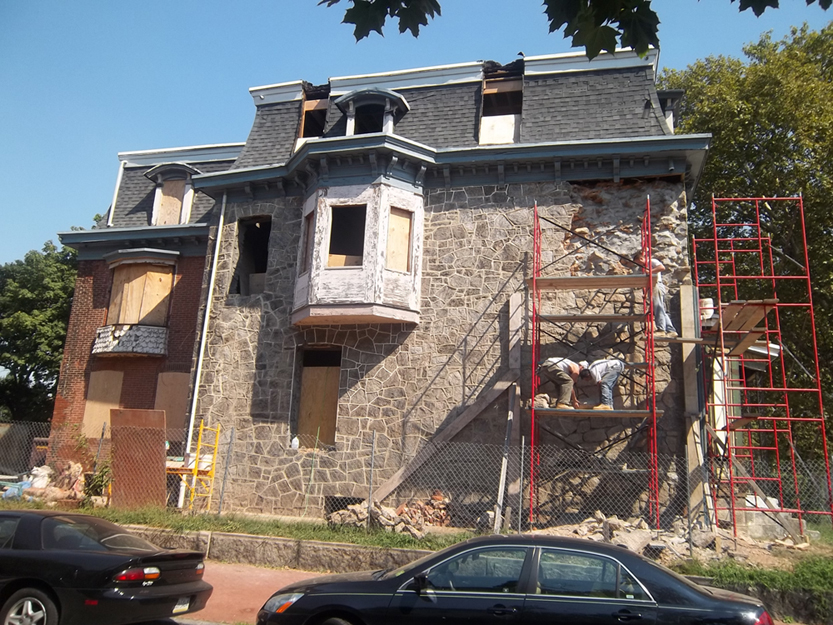 Drexel Smart House - during construction