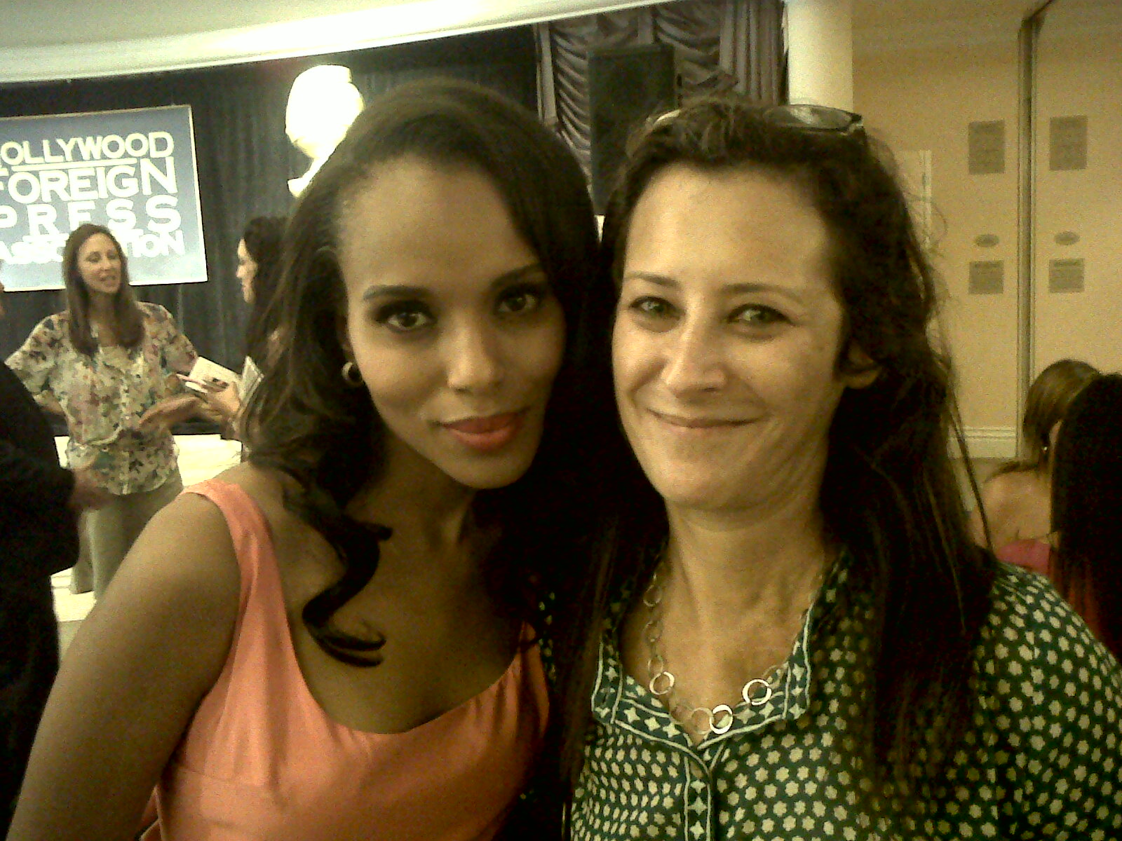 Kerry Washington and FilmAid Board Member, Pamela Reiss