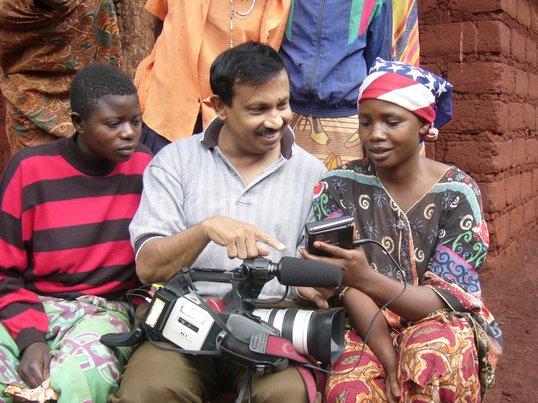 2005_TZN_KBD_video workshop_Nazrul with Ntunguka in Right.JPG