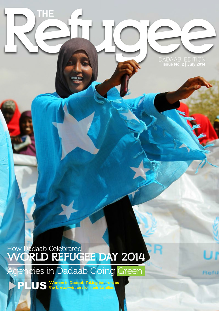 Refugee Magazine Dadaab Issue 2 Cover.jpeg