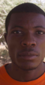"""Stallone Ngongo, a FilmAid trained refugee filmmaker and creator of the film """"It's All About Me""""."""