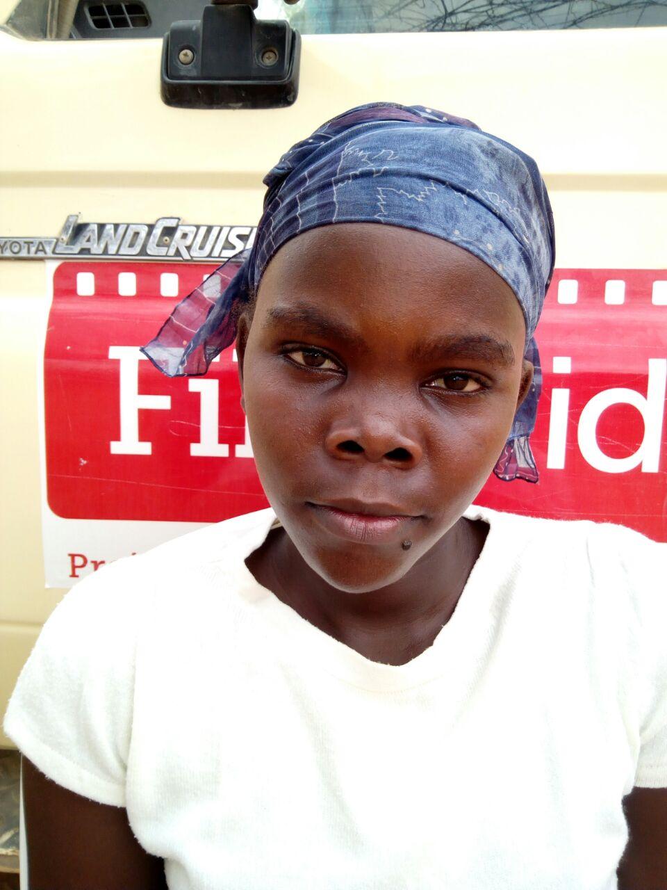 FilmAid alumna Susan Luka Mangu.Dadaab Refugee Camp, Kenya