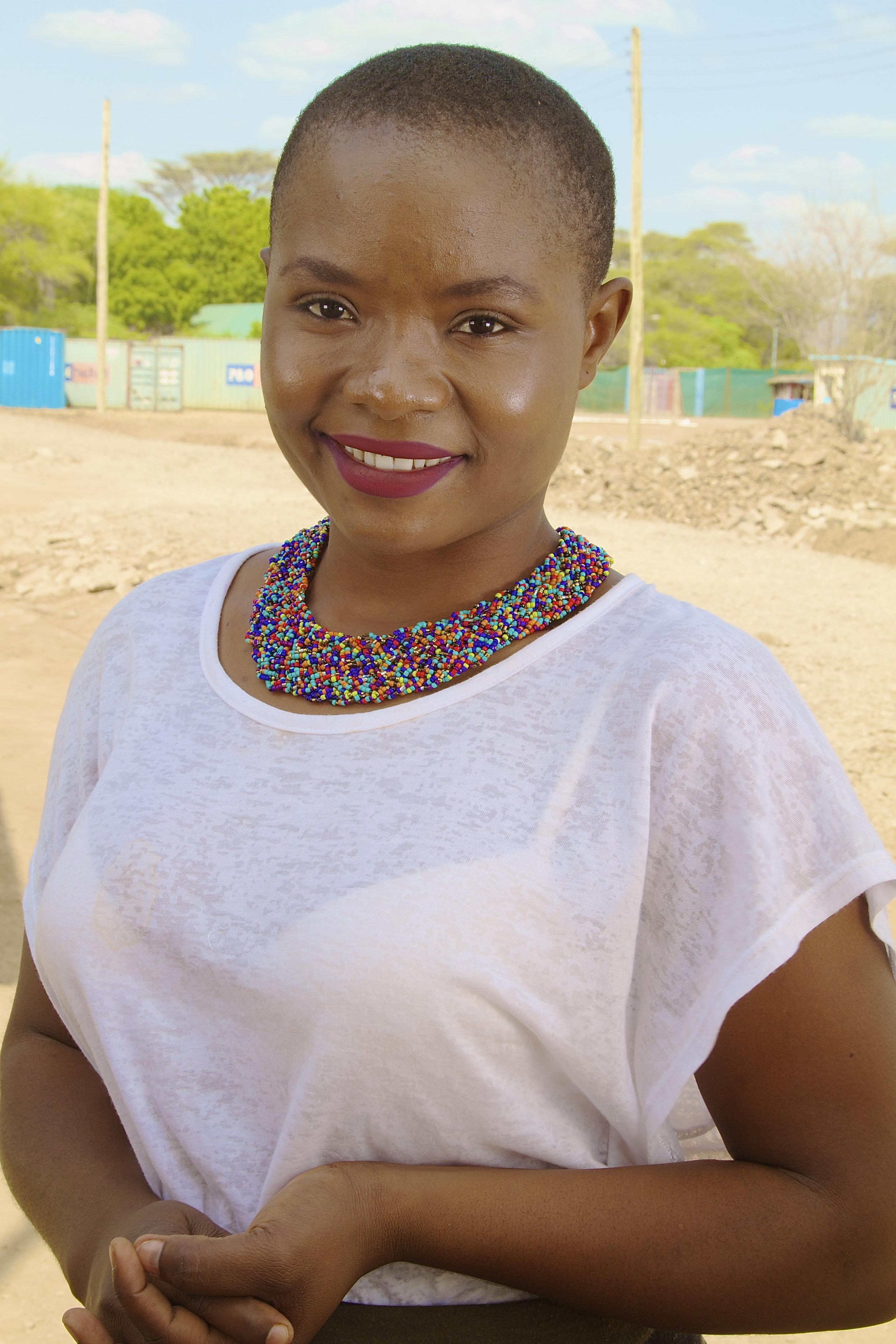 Amina Rwimo Hortence.Kakuma Refugee Camp, Kenya.