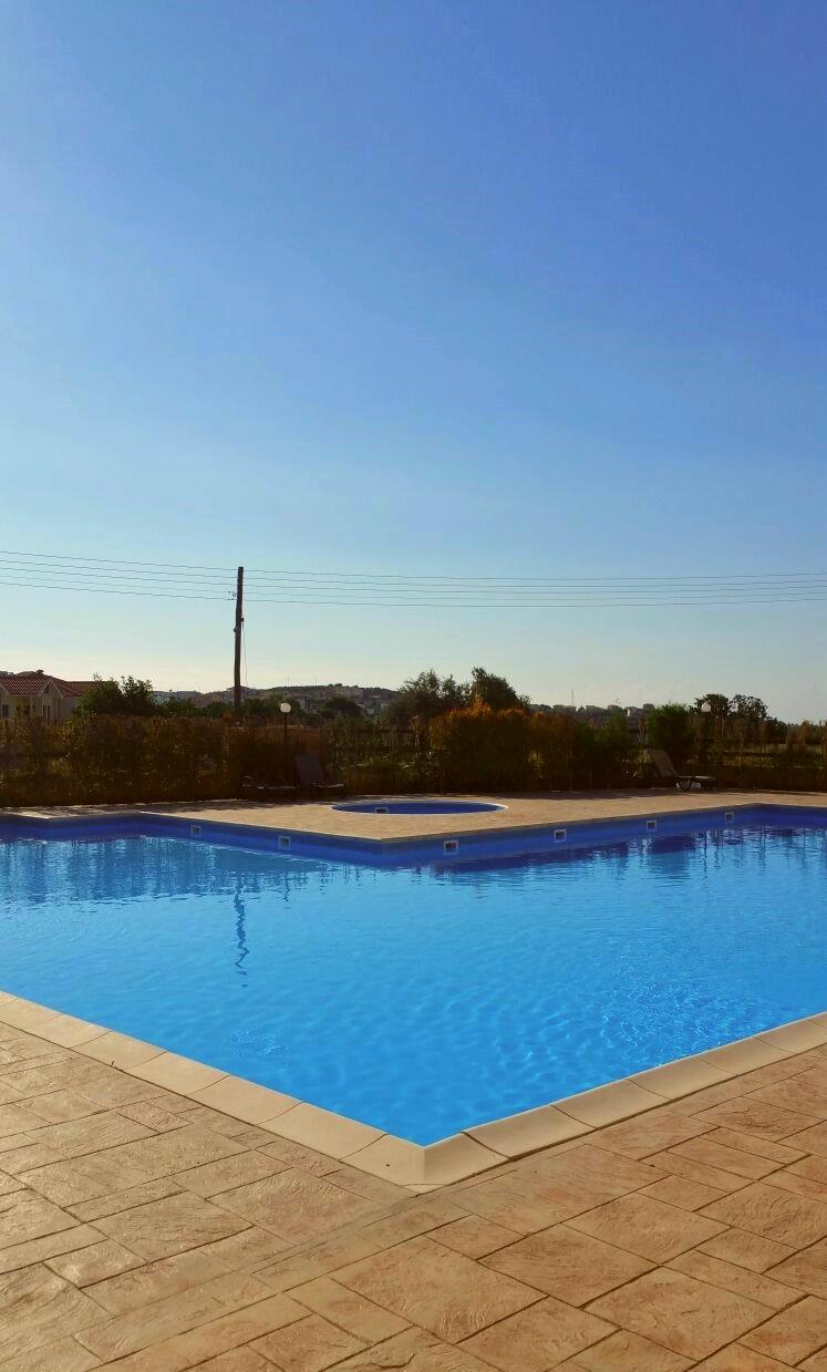 Fresh swimming pool