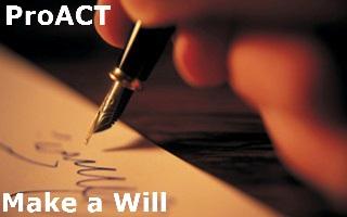 ProACT Partnership Make a Will