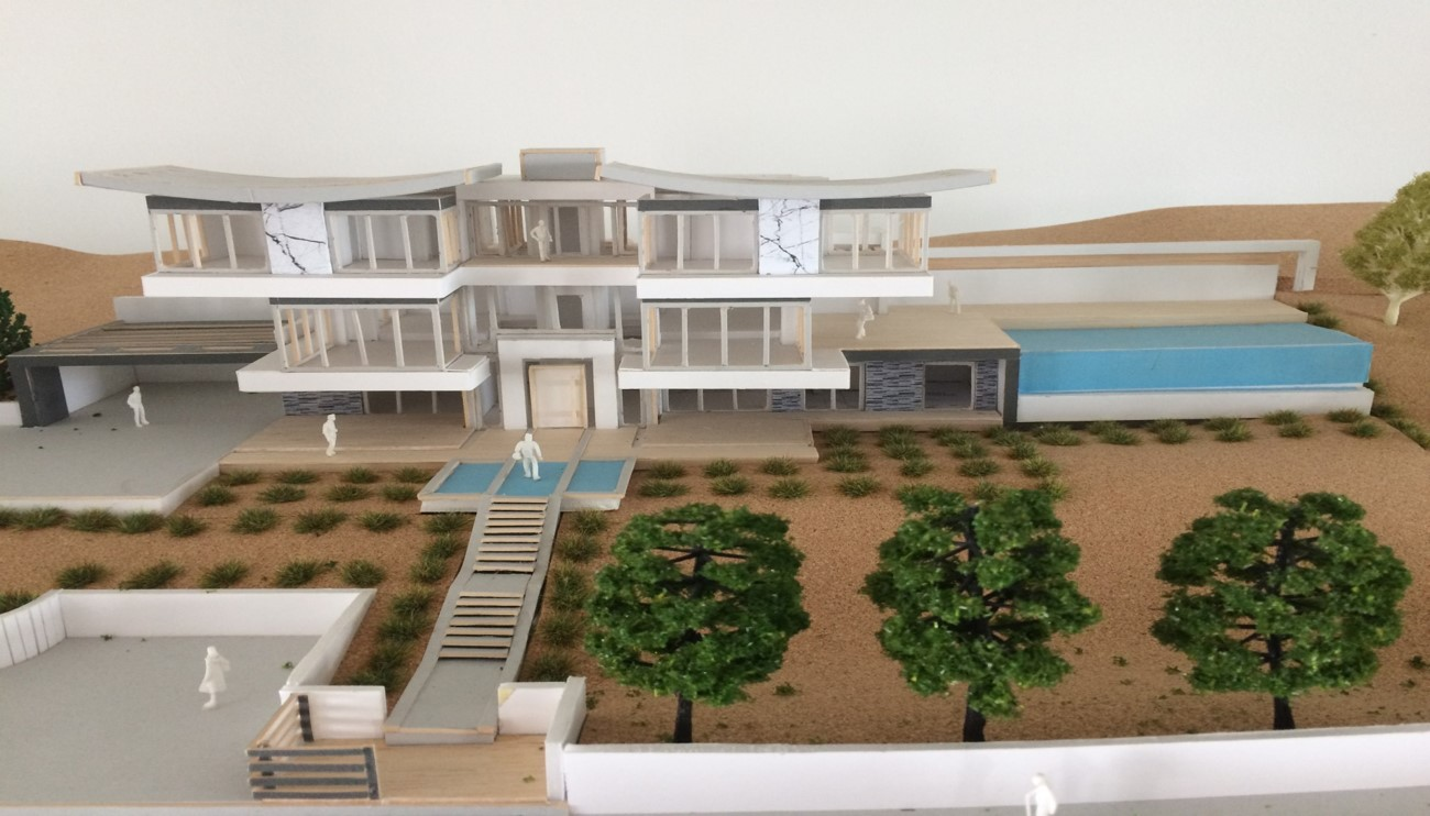 3D Model from South