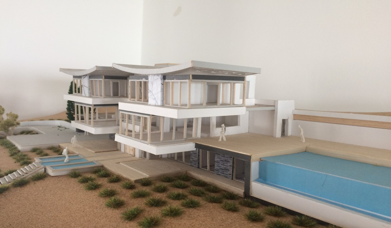 3D Model from East