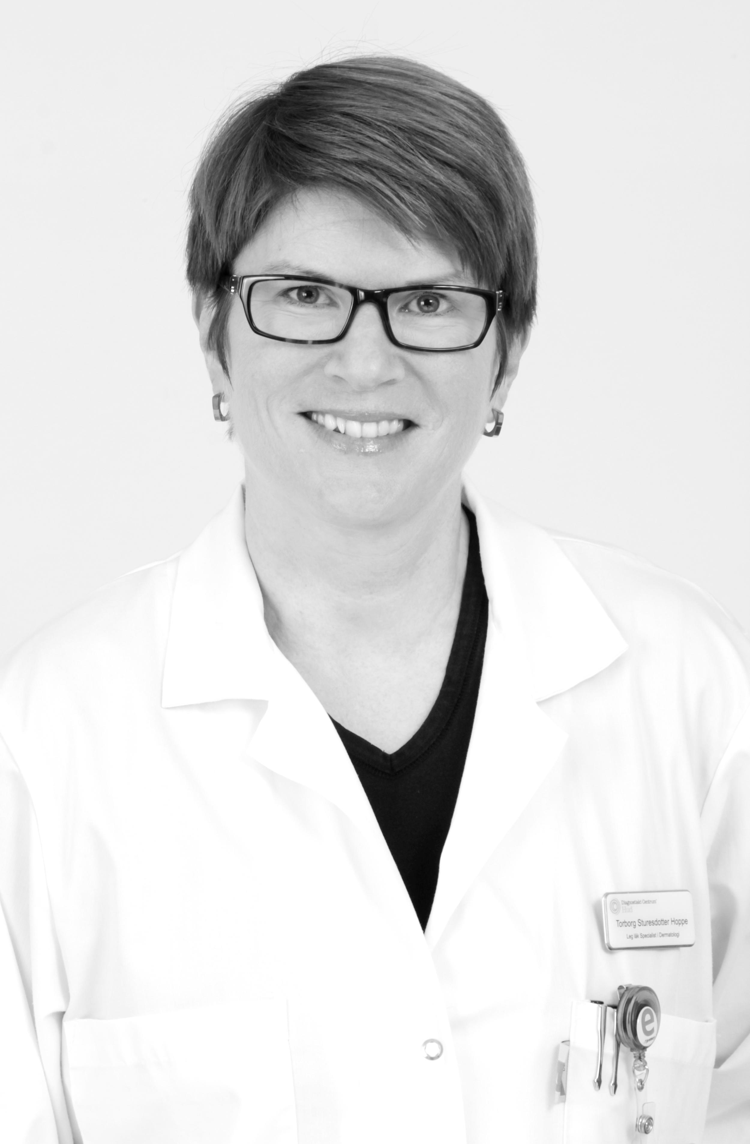 Torborg Sturesdotter-Hoppe  Hudläkare - Specialist i Dermatologi