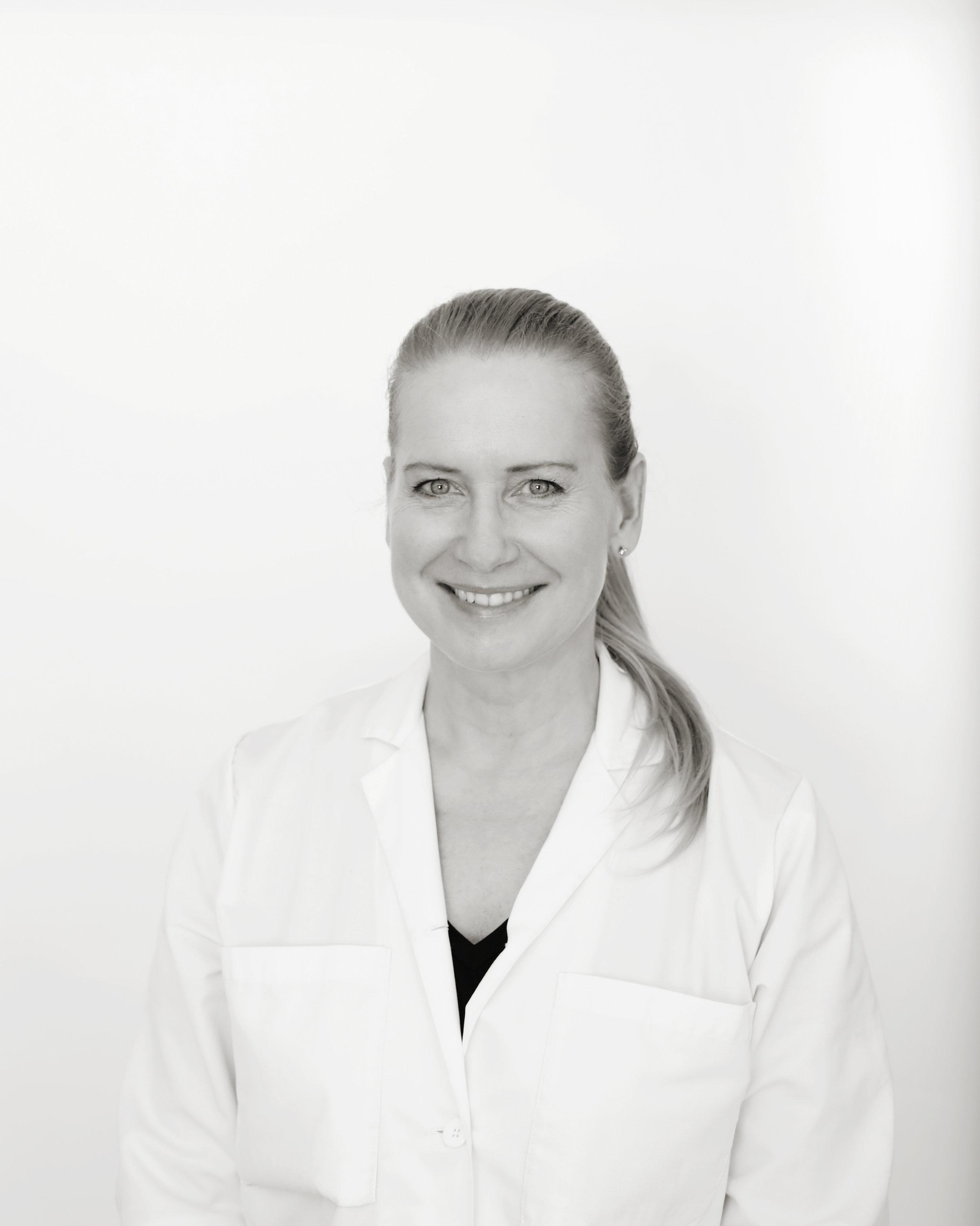 Yvonne Eklund, specialistläkare dermatologi