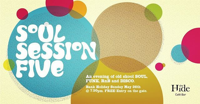 Back by popular demand, the MLSC DJs are back for their regular May Bank Holiday Soul Session slot. The boys will be adding a truck load of soul to totally Funk up your Bank Holiday Sunday this 26th May.  The boys will have you on the dance floor to old skool Soul, Funk, RnB and Disco classics. This event really is one not to miss if previous Soul Sessions are to go by.  Gates open at 7.30pm and entry is FREE. However, please note that entry will be on a first come first served basis and numbers are limited.  WARNING: These events are very popular and fill up very very quickly. Also... your feet will hurt on Monday!  Make sure you let people know you are coming along by clicking on the event link. ;o) Cant wait to funk out with you beautiful people.  #ampthillsoul #thehideampthill #ampthill