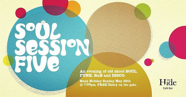 30 minutes until the gates open people.  Don't be late. Looking forward to a great evening of Soul, Funk and Disco.  #thehideampthill #ampthill #soulsessions #bankholidayparty
