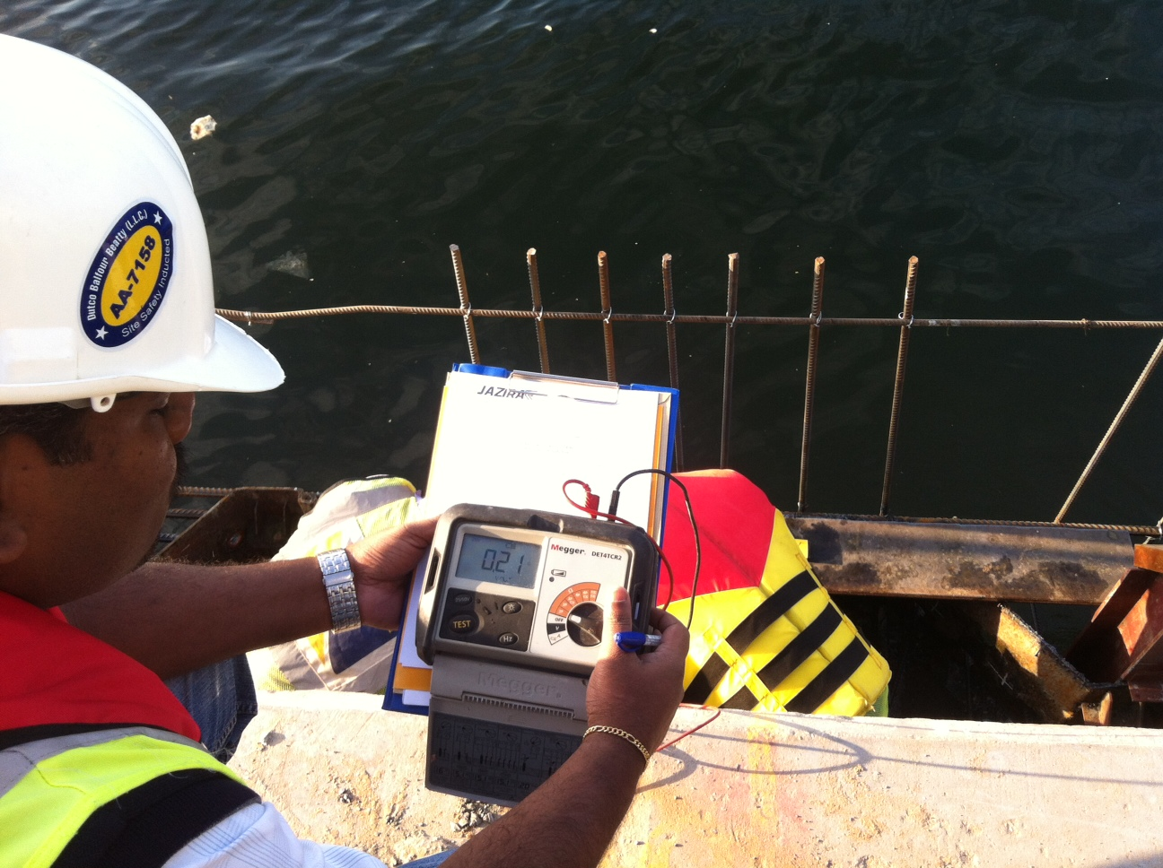 Testing & Commissioning of a Wharf