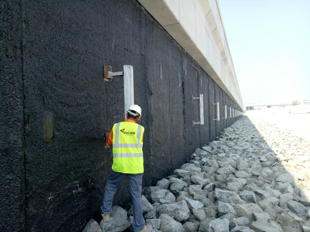"""Dubai Water Canal - """"Very good service, support and good technical advice""""Catheline V Sull,Head of Technical OfficeSix Construct"""