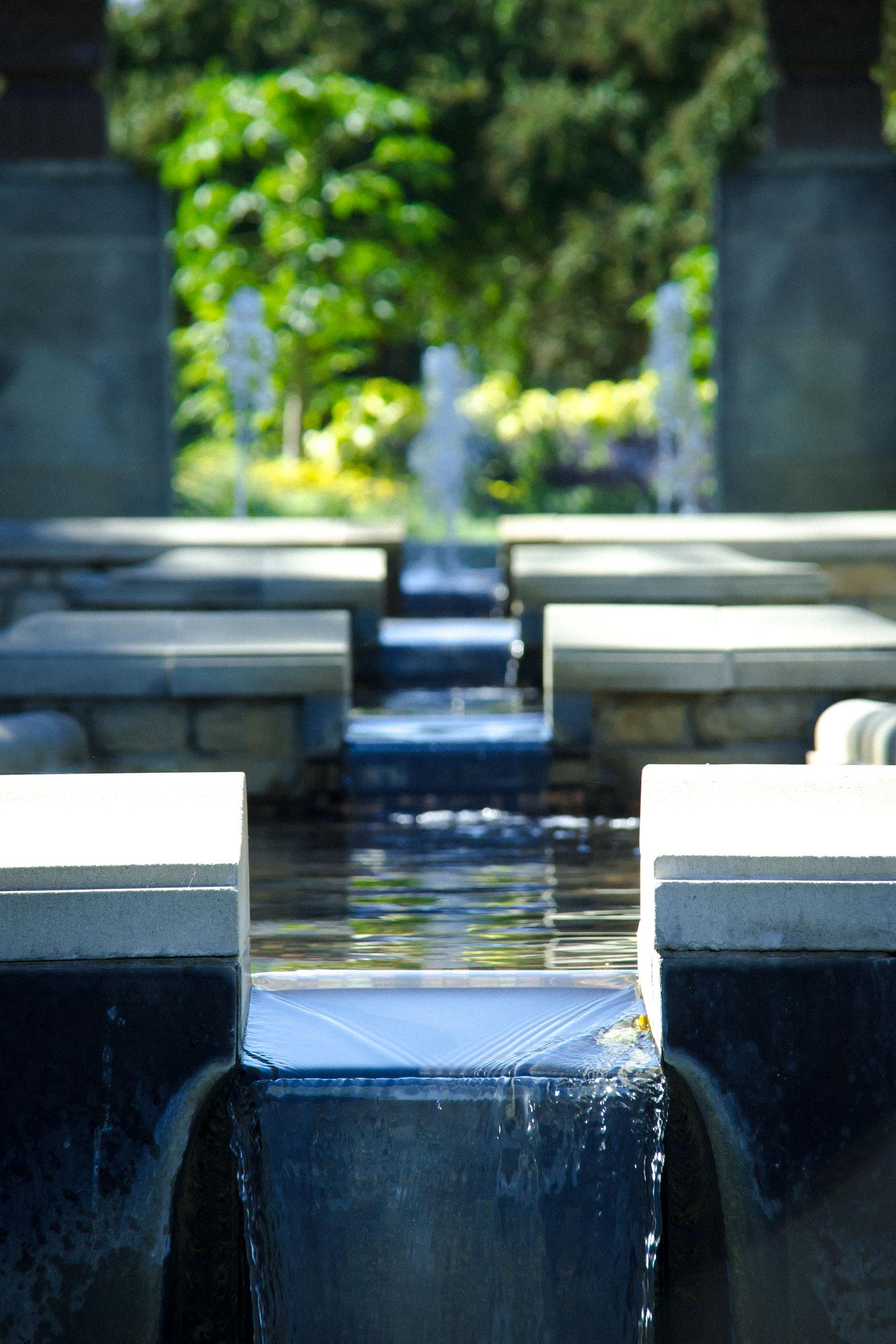 Descending Pools at Dallas Arboretum, Dallas 2013