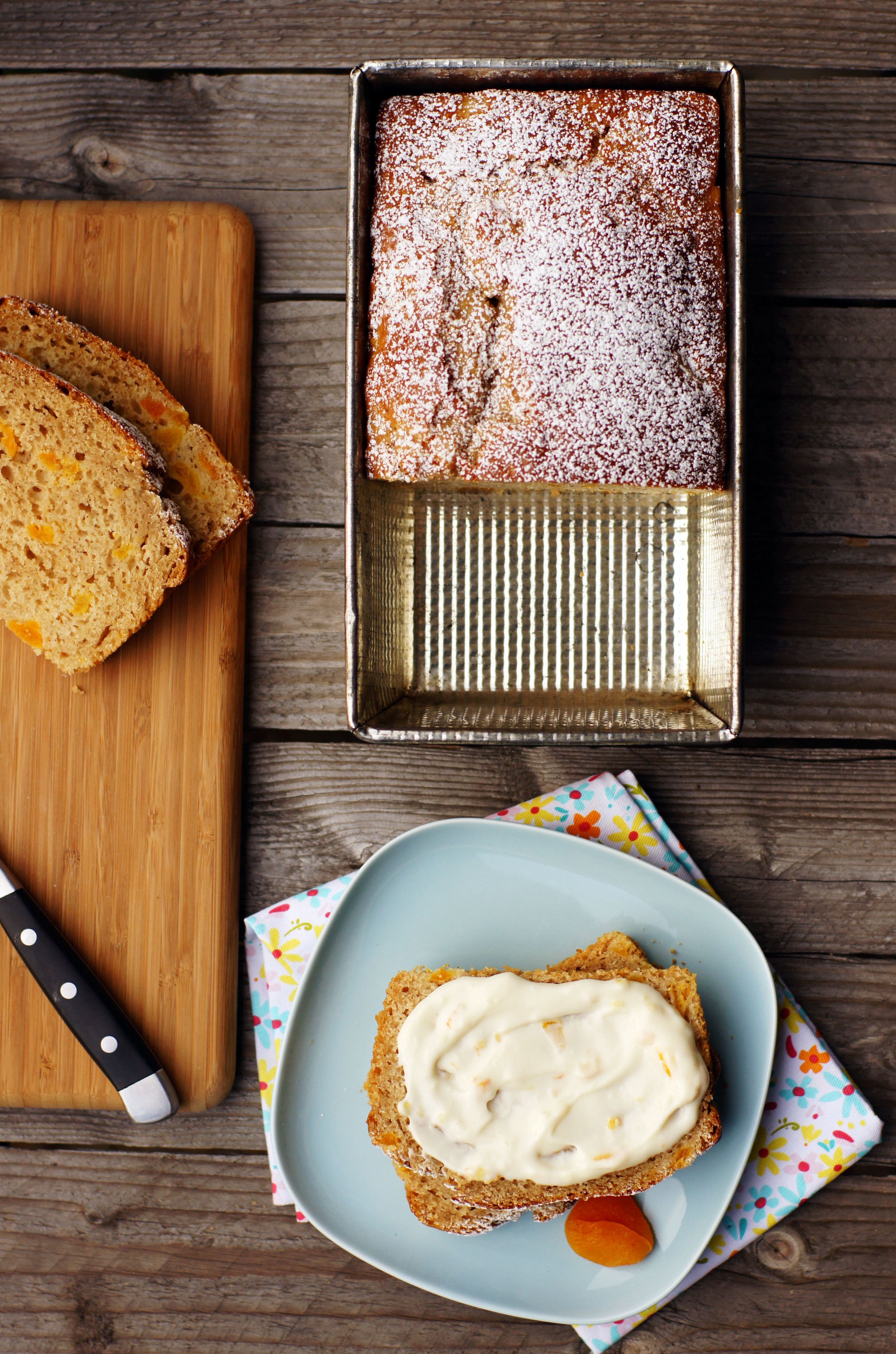 Honey Apricot Bread, Huffington Post 2011