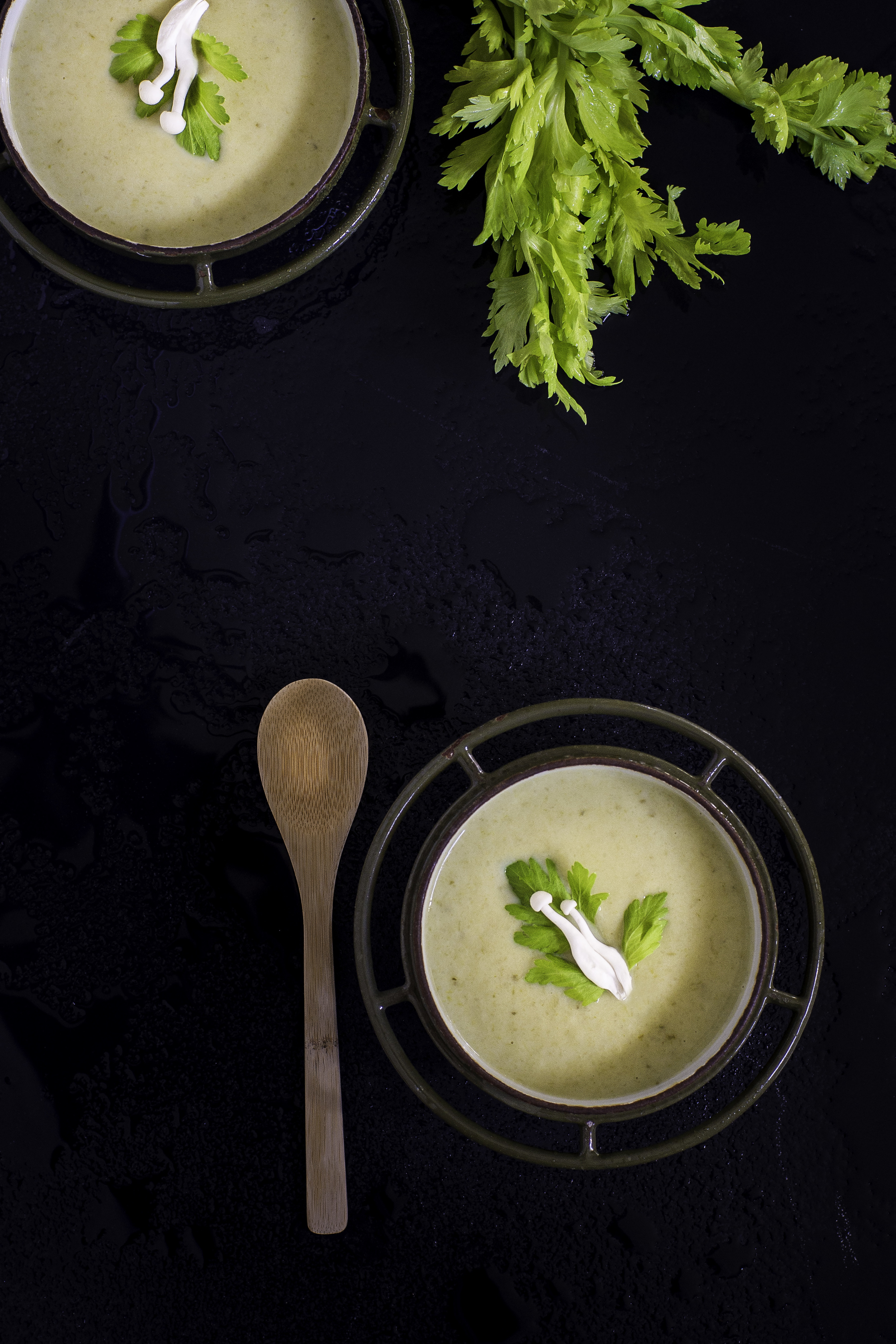 Creamy Celery Leek Soup , Today's Nest 2014