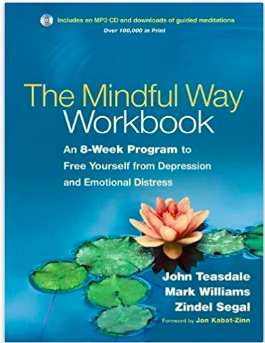 The Mindful Way Workbook: An 8-Week Program to Free Yourself from Depression and Emotional Distress   by  John Teasdale  (Author),  J. Mark G. Williams  (Author),  Zindel Segal  (Author)